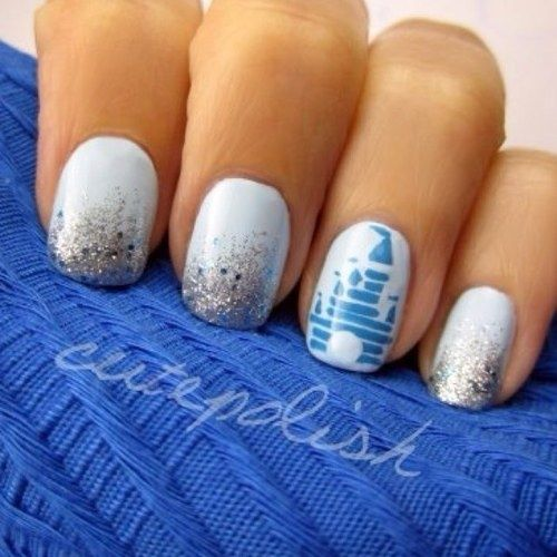 This is how my nails will be done when I go to Disney in 93 sleeps :)