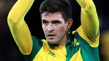 Northern Ireland striker Kyle Lafferty scores in a rare club appearance as Norwich beat West Brom in the League Cup