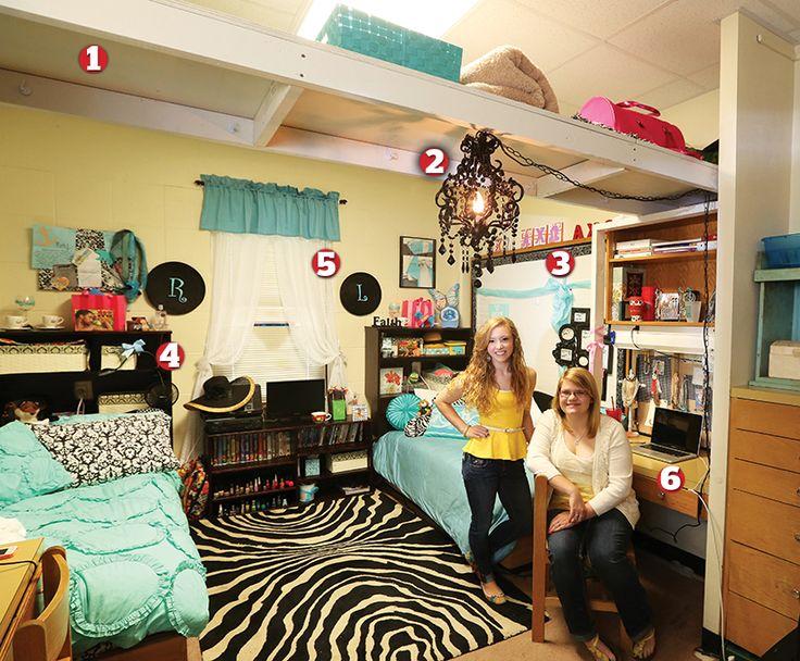 Baylor Dorm Room College Pinterest