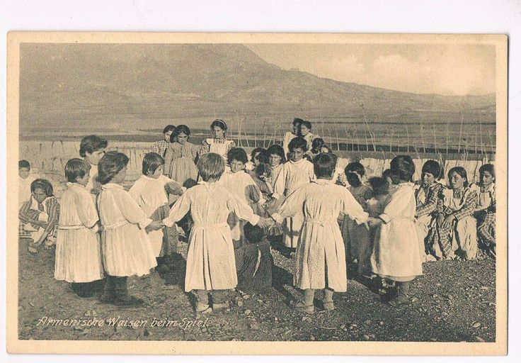German postcard: Orphans of the Armenian Genocide