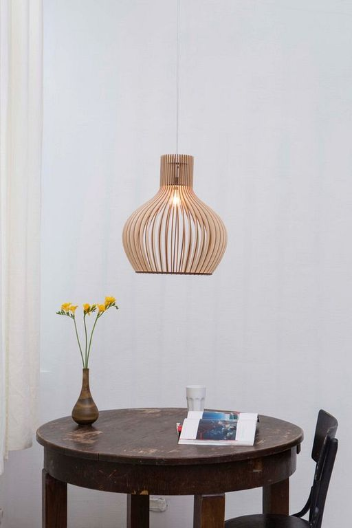 30+ Stunning Wooden Hanging Pendant Lamp Design Ideas Others in