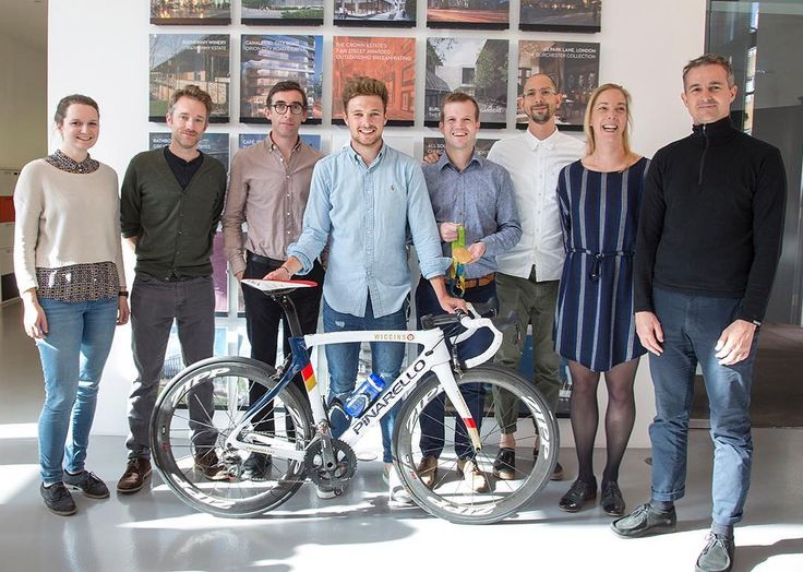 Mæ with Olympic champion cyclist Owain Doull #cycling Visit our Instagram page: