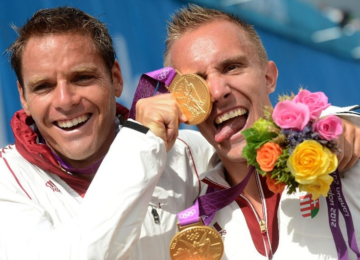 and another hungarian gold medal - Dombi Rudolf and Kökény Roland