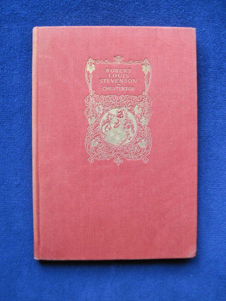 G K Chesterton w Robert Nicoll Robert Louis Stevenson Biography   eBay
