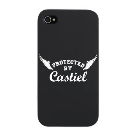 Castiel iphone case