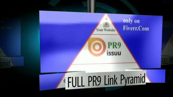 Issuu based FULL PR9 mini Link Pyramid for $5, on fiverr.com #SanAntonio #Texas #LocalSEO #SEO