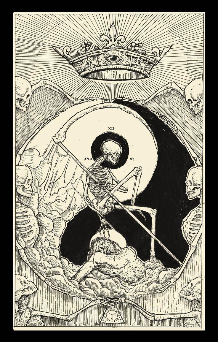 Death ( Tarot Card ) by erikemiranda.deviantart.com on @DeviantArt