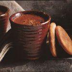 Mousse au chocolat noir et biscuits tout gingembre ¦ Cuisine et Vins de France