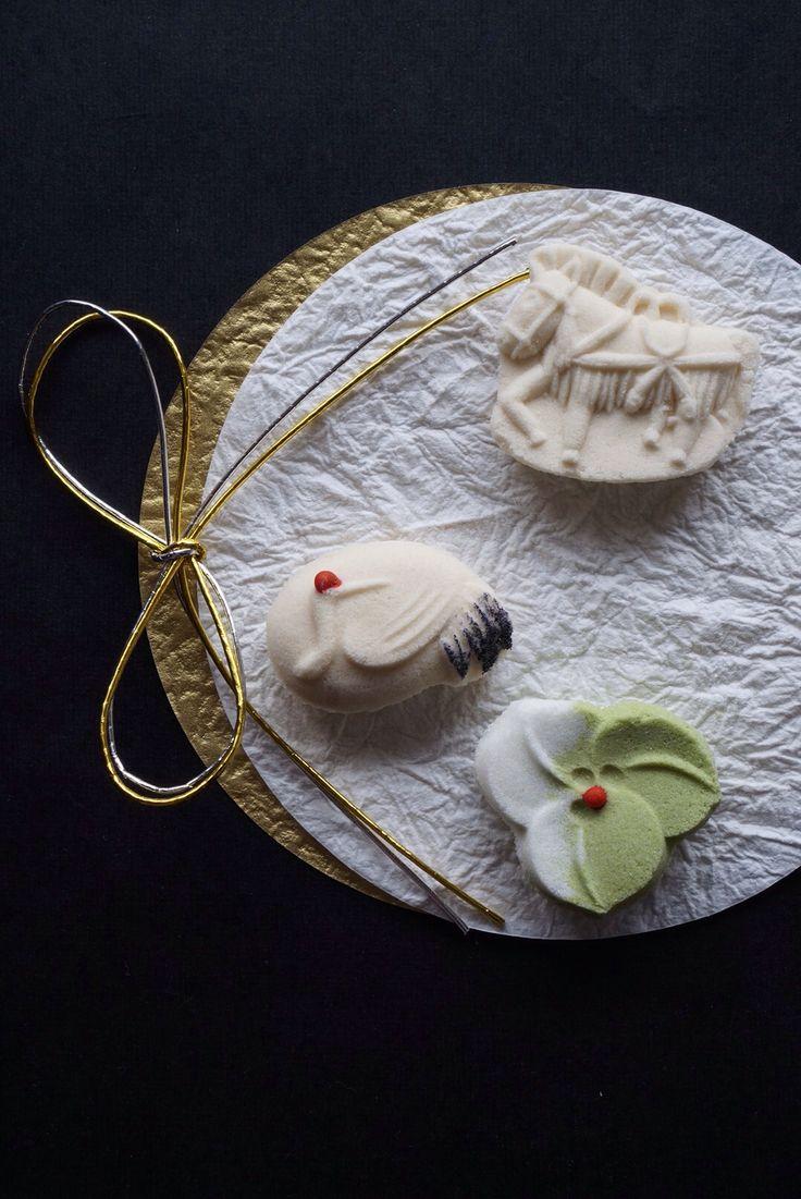 正月 Japanese sweets for the year of the horse 2014