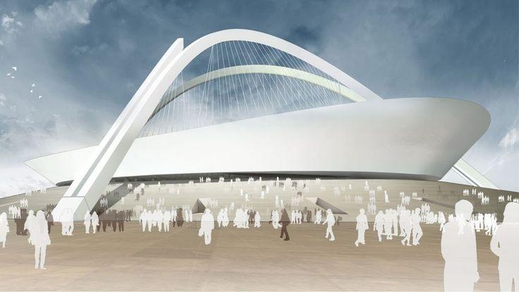 NEW FOOTBALL STADIUM BY GMP ARCHITEKTEN