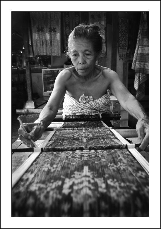 THE WEAVER ~ - #Tenganan #Bali #ikat #factory #balinese
