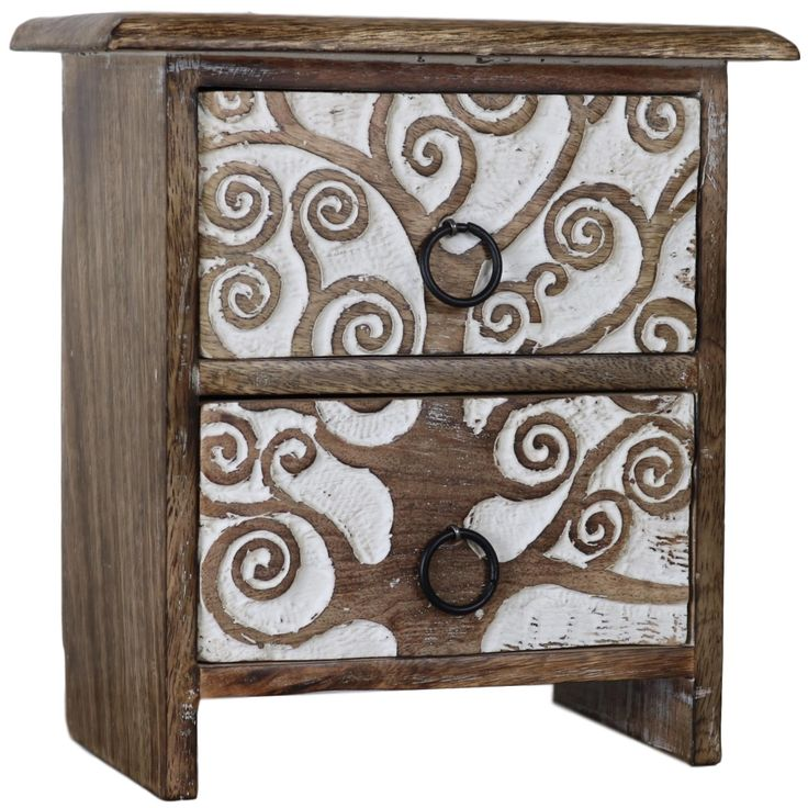 Tree of Life - Set of Wooden Drawers