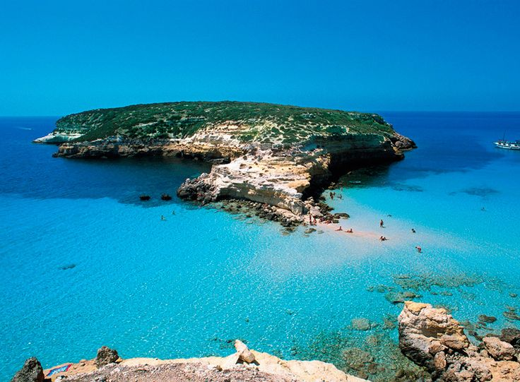 Rabbit beach, Lampedusa, Italy