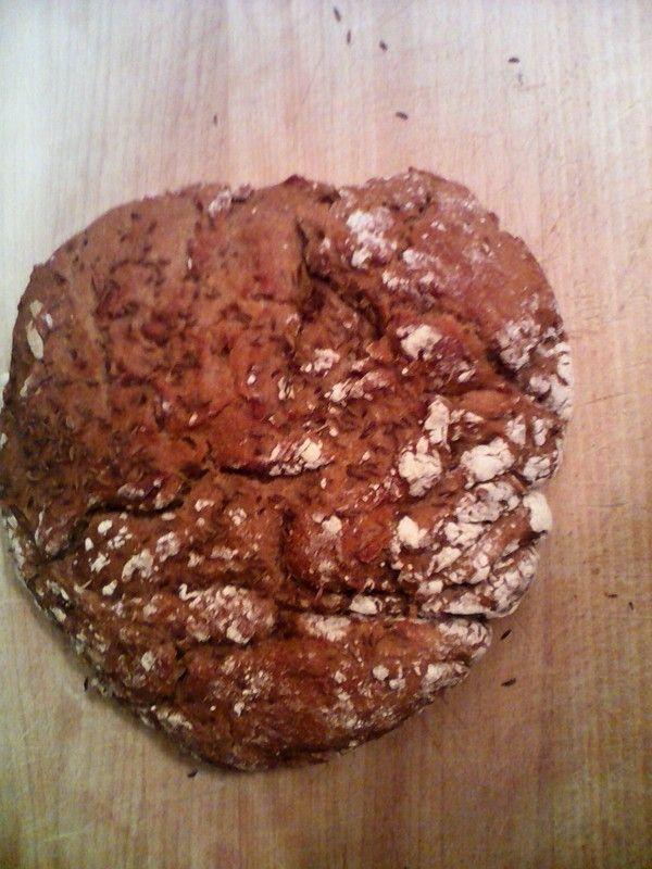 Můj první žitný chléb