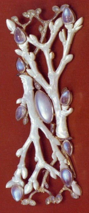 René Lalique  'Willow Wands' Brooch
