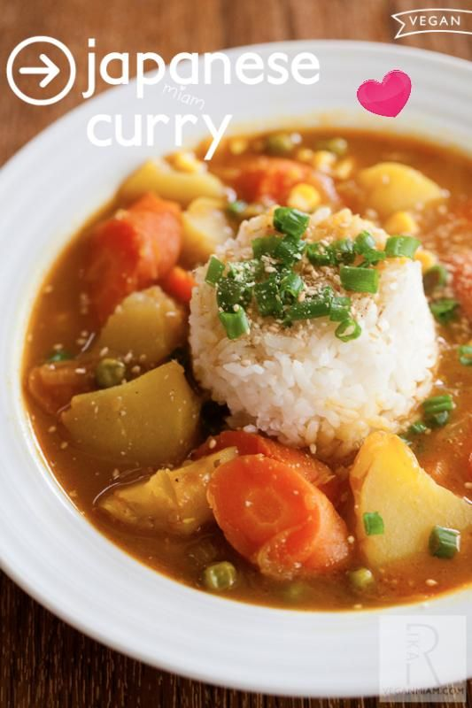 March 2013 Newsletter from vegan miam - Japanese Vegan Curry recipe. My hubby loves Golden Curry but it is filled with additives and garbage ingredients.