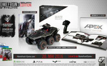 [Angebot]  Homefront: The Revolution  Goliath Edition (100% uncut) (exklusiv bei Amazon.de)  [PlayStation 4 und Xbox One] für 4995