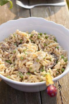 Tunfisch-Nudelsalat – super schnell und extrem lecker und mein Beitrag für alle lieben Pasta