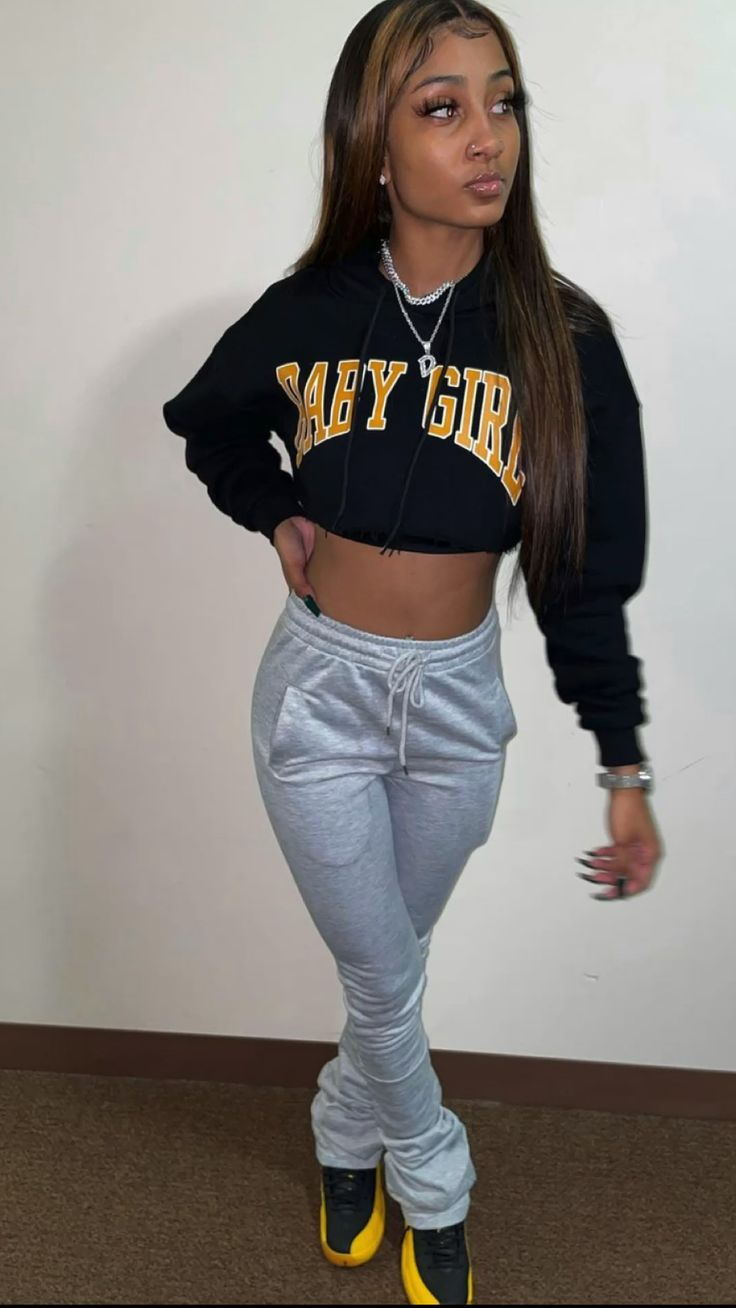 Cute Lazy Outfits, Swag Outfits For Girls, Cute Swag Outfits, Chill Outfits, Dope Outfits, Girly Outfits, Pretty Outfits, Tomboy Fashion, Teen Fashion Outfits