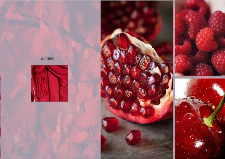 Ribes: a color inspired by red berries! Discover our accessories on shop.marinafinzi.com  #colorschart #MadeinItaly #marinafinzi