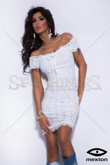 Mexton Warm Place White Dress