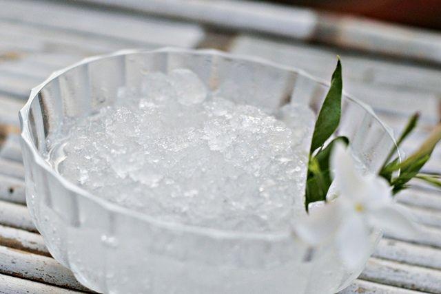 granita siciliana al gelsomino