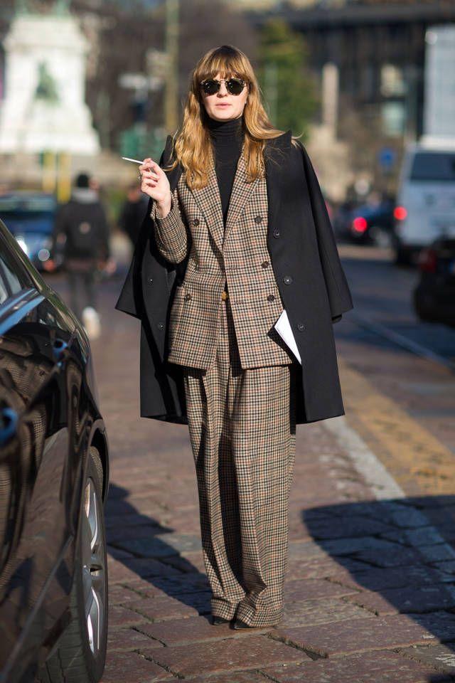 #whowhatwear Street Style Milan Fashion Week Street Fall 2014 - Milan Street Style - Harper's BAZAAR