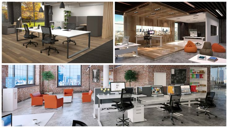 Here are some ideas for the multitude of office designs you can create using our furniture.  http://www.jpoffice.com.au/