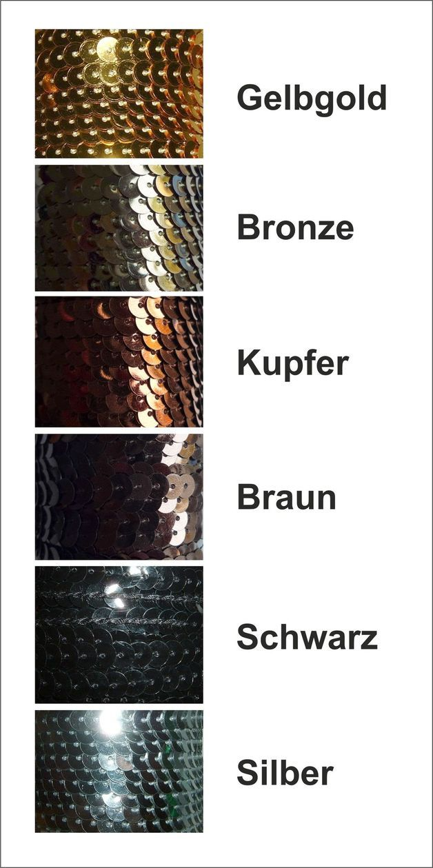 3 Meter Paillettenband zur Auswahl!!!!  Die Pailletten sind metallicfarbend und 6mm im Durchmesser.  Der Faden ist farblich den Pailletten angepasst.  Es gibt die...