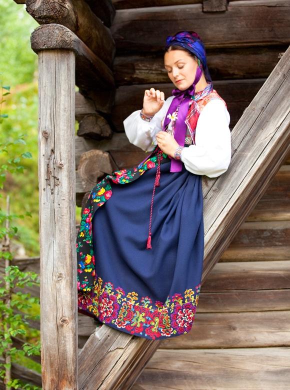 Costume from Dalecarlia, Sweden