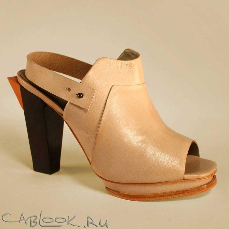 Сабо женские Finsk 138-24 в магазине креативной обуви CabLOOK.ru