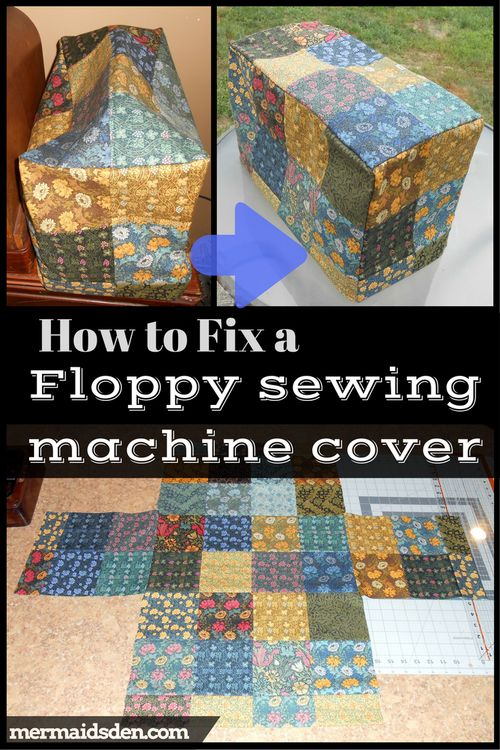 How to Fix a Floppy Sewing Machine Cover