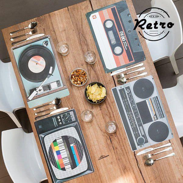 HIFI RETRO TABLE MAT - Geeks Buy Gadgets