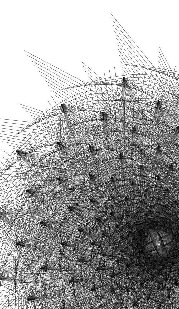 Geometrisch- Meetkundig, op wiskunde gebaseerd. Geometrische vormen worden vaak herhaald.