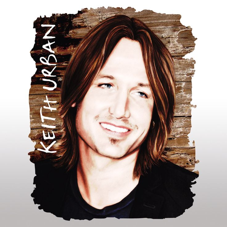 Design created from my artwork of country music legend and hottie, Keith Urban, available from my shop as prints, tees, bags,mph one cases etc, www.redbubble.com/shop/dacdacgirl
