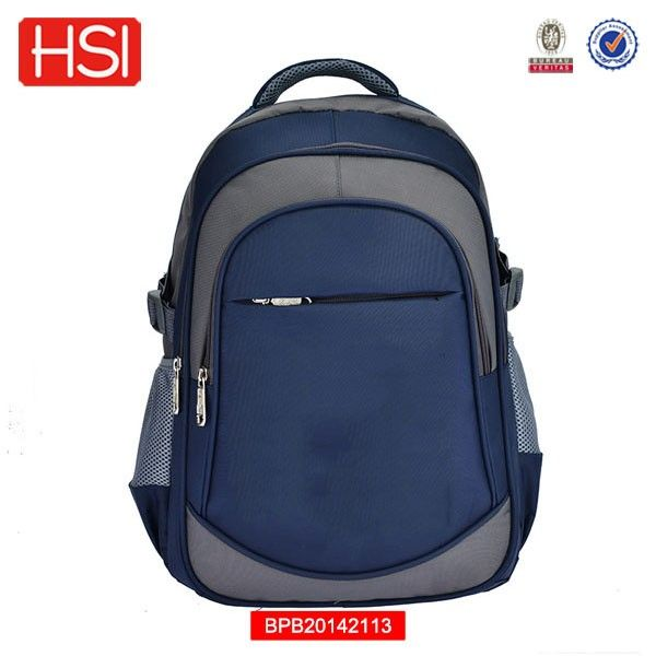 2016 china supplier BSCI audited school backpacks for boys