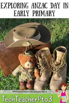 Exploring ANZAC Day in Early Primary can be a difficult but here are some suggestions for some fun activities you can use and books to read.