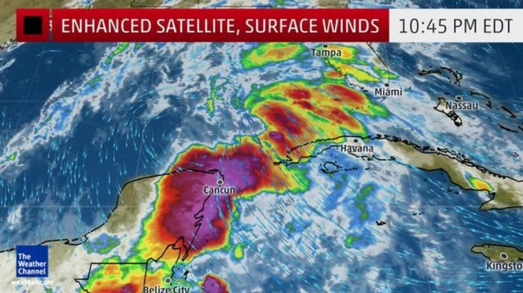 Tropical Storm Colin has formed and is expected to impact Florida early this week. (June 6 2016)
