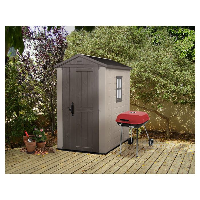 Factor Storage shed in taupe $699.00 Wayfair.com - Online Home Store for Furniture, Decor, Outdoors & More | Wayfair