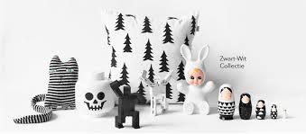 Afbeeldingsresultaat voor kussens zwart wit