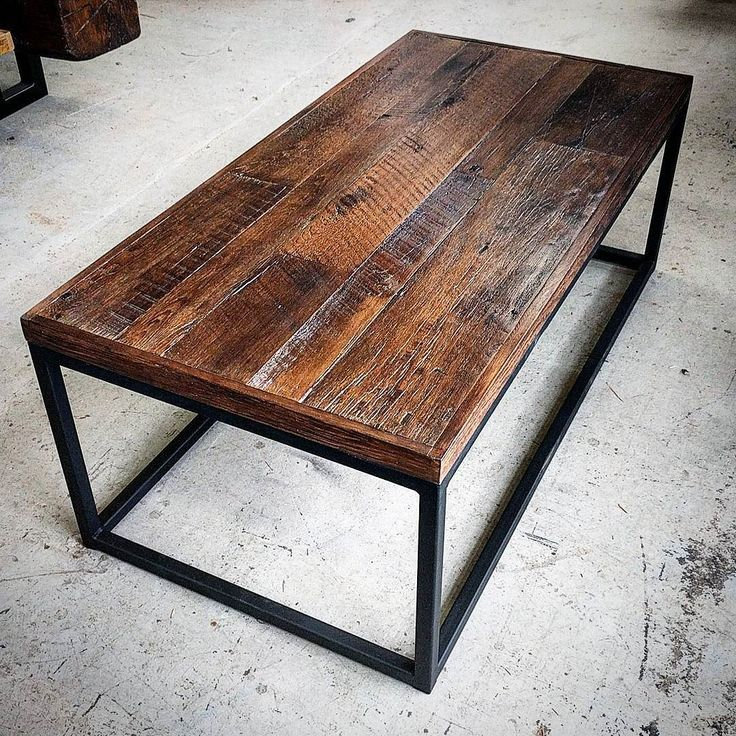 Reclaimed Barn Board Coffee Table Just Completed For A