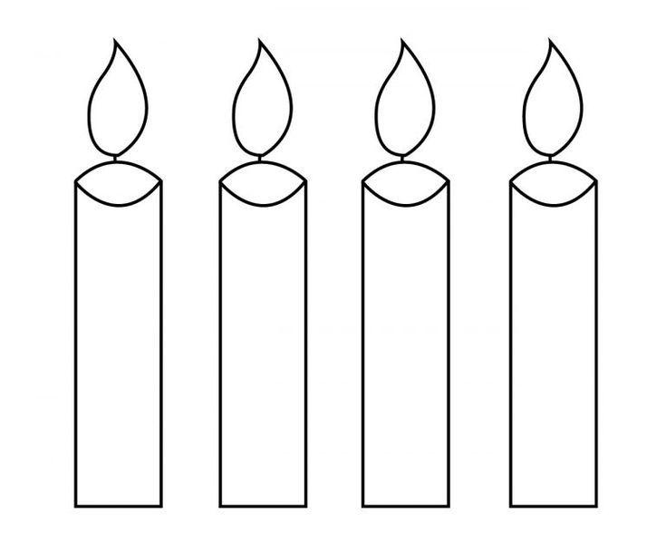 Kerze Malvorlagen Fur Ihre Kleinen Geburtstag Weihnachten