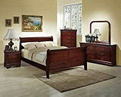 Best 25 Cherry Sleigh Bed Ideas On Pinterest Bedroom