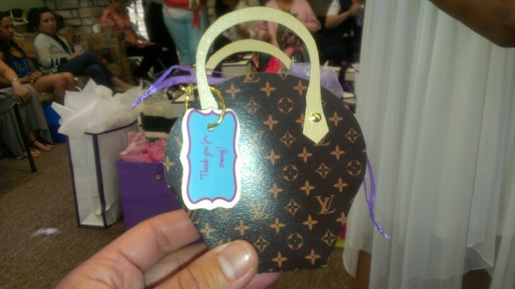 Louis Vuitton Party Favor With Purse Holdet Charm Party