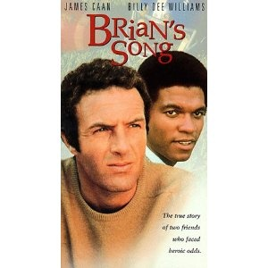 'Brian's Song'  If his date didn't cry when she watched this movie, my son didn't ask her out again.