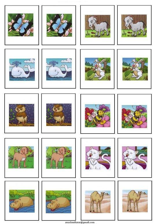 Memory dieren deel 3