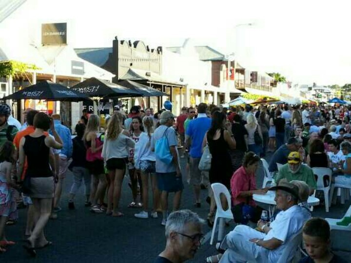 Unley Gourmet Gala on King William Road, Hyde Park, Adelaide