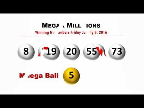 Mega Millions Winning Numbers Friday July 8, 2016; Jackpot won in Indiana - http://LIFEWAYSVILLAGE.COM/lottery-lotto/mega-millions-winning-numbers-friday-july-8-2016-jackpot-won-in-indiana/
