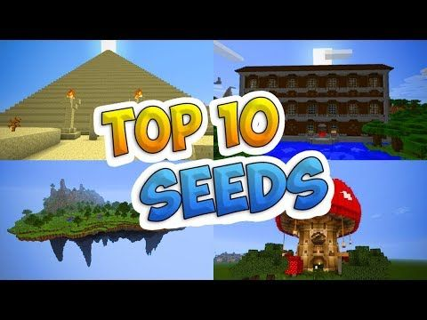 Top 10 BEST Seeds for Minecraft (Pocket Edition, PS4, Xbox, Switch