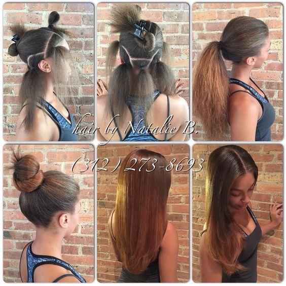 TRULY versatile sew-ins... PERFECT PONY SEW-IN HAIR WEAVES by Natalie B. (312) 273-8693...IG: @iamhairbynatalieb...FACEBOOK: Hair by Natalie B. .....ORDER HAIR: http://ift.tt/1jyqnWf. by iamhairbynatalieb